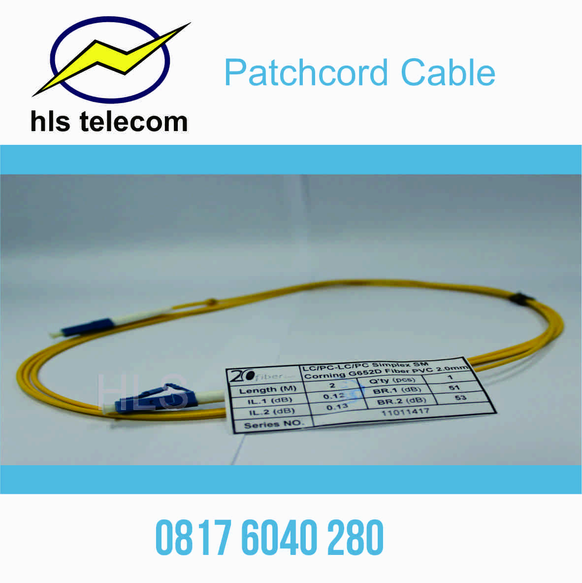 Kabel Patchcord Fiber Optic